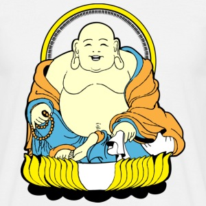 Happy Buddha T-Shirts - Herre-T-shirt