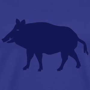 shirt pig wild boar hog - Men's Premium T-Shirt