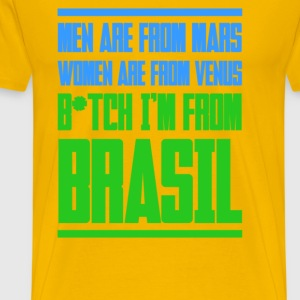 brasil_im_from2 T-shirts - T-shirt Premium Homme