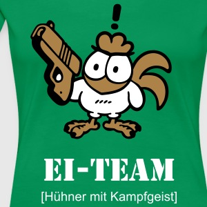 Ei-Team - Frauen Premium T-Shirt