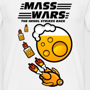 MASS WARS - Oktoberfest - Wiesn - Männer T-Shirt