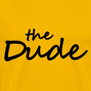 The Dude T-Shirts - Männer Premium T-Shirt