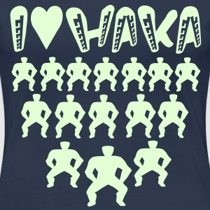 I LOVE HAKA - Women's Premium T-Shirt