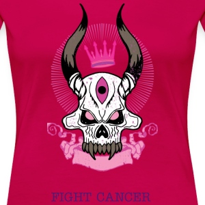Fight Cancer - Premium-T-shirt dam