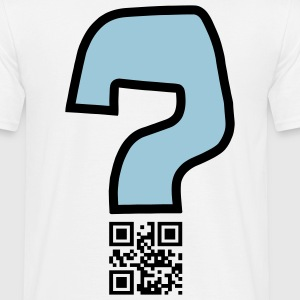 Question v2 - QR-code (2c, new) Tee shirts - T-shirt Homme