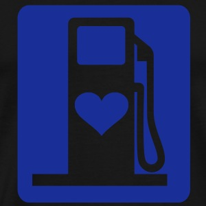 Love gas - Premium-T-shirt herr