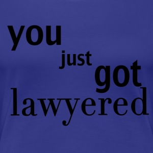 Lawyered shirt - women - Women's Premium T-Shirt