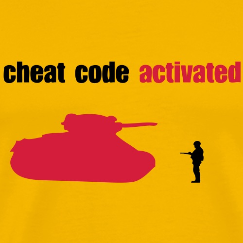 cheat code activated