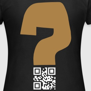 Question v1 - QR-code (2c, new) Tee shirts - Women's T-Shirt