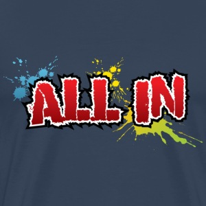 All in, graffiti - Mannen Premium T-shirt