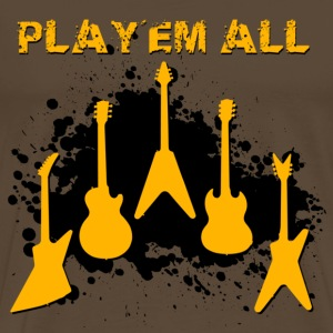 Play 'Em All - T-shirt Premium Homme