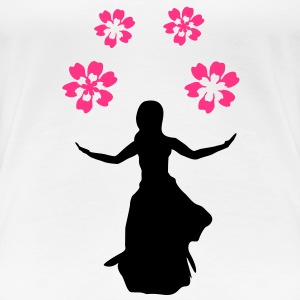 flower girl  T-Shirts - Women's Premium T-Shirt