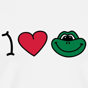 I love frogs T-shirts - T-shirt Premium Homme