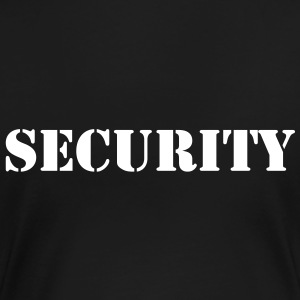 Security t-shirt - Premium T-skjorte for kvinner