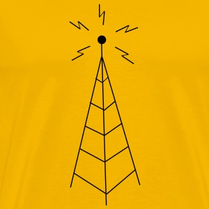 Transmission Tower Sendemast T-Shirts - Men's Premium T-Shirt