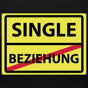 beziehung single T-Shirts - Frauen Premium T-Shirt