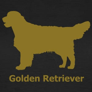Golden Retriever Labrador T-shirts - Dame-T-shirt