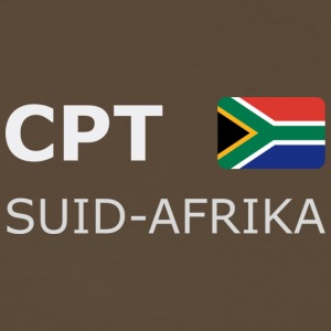 Classic T-Shirt CPT SUID-AFRIKA white-lettered - Mannen Premium T-shirt
