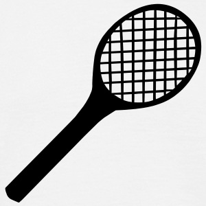 Tennis Racket T-Shirts - Men's T-Shirt