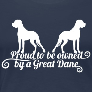 Proud to be owned T-Shirts - Frauen Premium T-Shirt