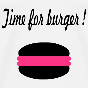 Time for burger - Männer Premium T-Shirt