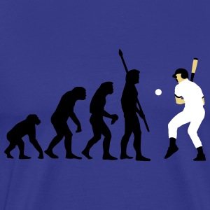 evolution_baseball_072011_a_3c T-skjorter - Premium T-skjorte for menn