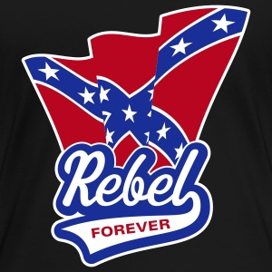 Rebel Forever Flag, Girlie-T-Shirt - Women's Premium T-Shirt
