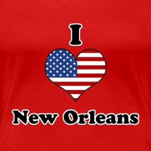 I love New Orleans T-Shirts - Women's Premium T-Shirt