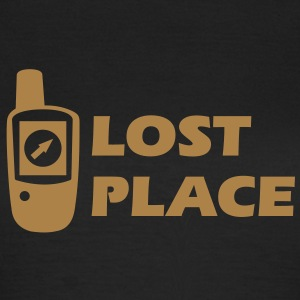 Geocaching GPS Lost Place Cache T-Shirts - Frauen T-Shirt