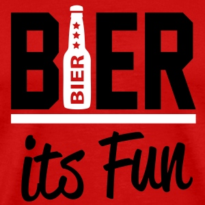 bier_its_fun2 T-Shirts - Männer Premium T-Shirt