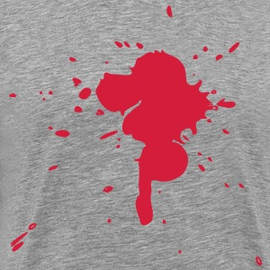 blood 1 by Madalessandro - Men's Premium T-Shirt