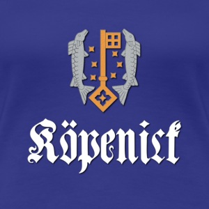 koepenick_wappen_light T-Shirts - Frauen Premium T-Shirt