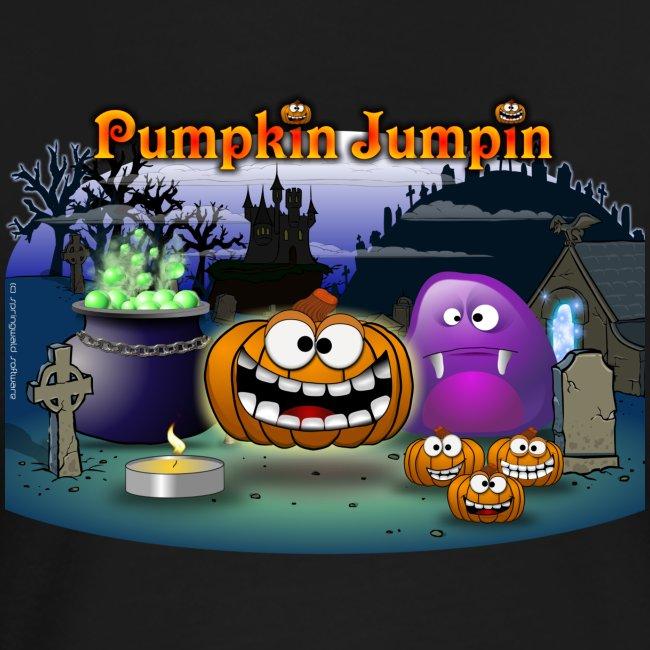 PumpkinJumpin Girlie-Shirt