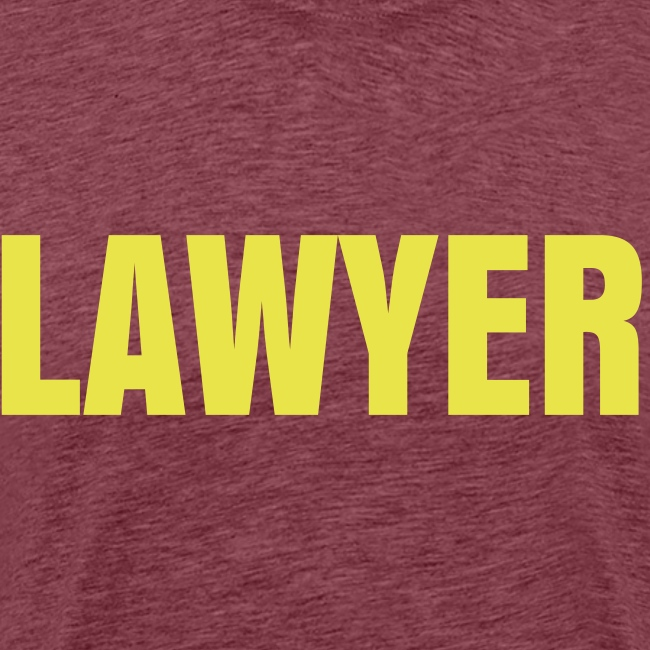LAWYER Yellow Logo T