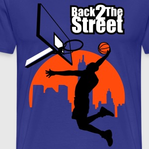 Back 2 the street - Men's Premium T-Shirt