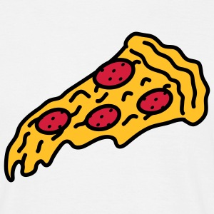 pizza_3c T-Shirts - Men's T-Shirt