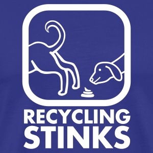T-shirt, Recycling stinks - Premium-T-shirt herr