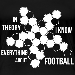 Football dark shirt T-shirts - Premium-T-shirt dam