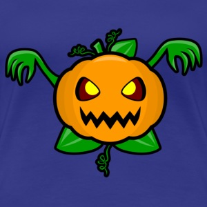 Pumpkin, horror, scary, Halloween T-Shirts - Women's Premium T-Shirt
