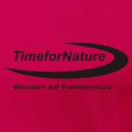 Motiv ~ TimeforNature-Shirt für Damen XL - 3XL mit Logo