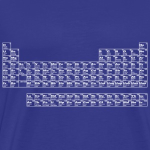 Classic tee with Periodic Table - Men's Premium T-Shirt