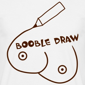 booble_draw_1c T-shirts - T-shirt herr