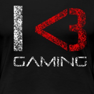 I Love Gaming 1.1 Frau - Women's Premium T-Shirt
