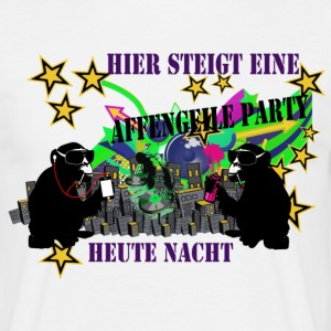 affengeile party T-Shirts - Männer T-Shirt