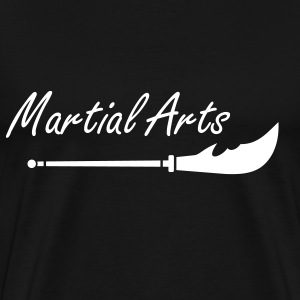 Sverd - Long Tou - Martial Arts T-skjorter - Premium T-skjorte for menn