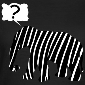 Zebra Elephant mitico animale, incantesimo molto discutibile T-shirt - Maglietta da donna