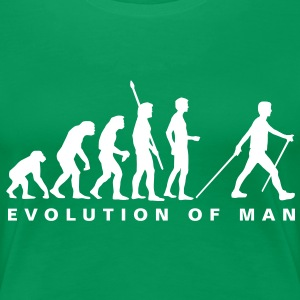evolution_nordic_walking_b Tee shirts - T-shirt Premium Femme