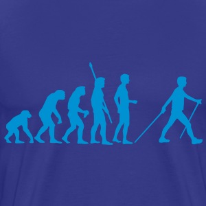 evolution_nordic_walking Tee shirts - T-shirt Premium Homme