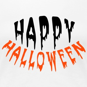 Happy Halloween (2c) Tee shirts - Frauen Premium T-Shirt
