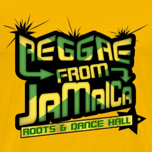 reggae from jamaica roots & dance hall T-shirts - Premium-T-shirt herr